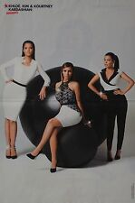 KIM & KHLOE & KOURTNEY KARDASHIAN - A3 Poster (ca. 42 x 28 cm) - Clippings NEU