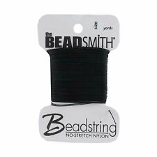 NO-STRETCH NYLON BEADING THREAD STRING CORD BEADSTRING SIZE 2-4-6-8
