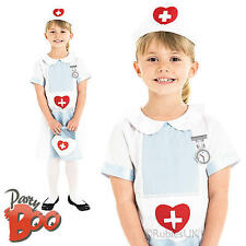 Nurse Uniform Age 5-6 Girls Fancy Dress Up Doctors & Nurses Child Kids Costume