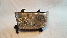 2008 2009 2010 2011 2012 2013 TOYOTA SEQUOIA / TUNDRA HEADLIGHT OEM LEFT