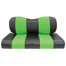 Black/Lime Green EZGO TXT, EZGO RXV Golf Cart Seat Covers/FREE Shipping