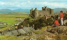Postcard Wales  Harlech Castle unposted Colourmaster