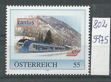 """Österreich PM personalisierte Marke Eisenbahn """" Cantus """" **"""
