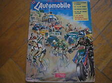 TOUR DE FRANCE 1950 L'AUTOMOBILE COPERTINA FRENCH MAGAZINE