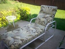 9pc Cushion Patio Set (6 chair, 1 chase, 1 swing/bench) w/ matching 9ft umbrella