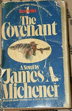 THE COVENANT by JAMES A. MICHENER 1982 PB 1ST