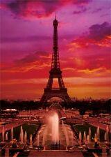 Yanoman Jigsaw Puzzle 12-16 Eiffel Tower (1000 S-Pieces)