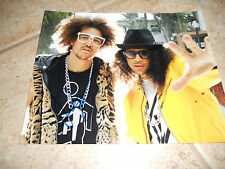 LMFAO RedFoo Sexy Signed Autographed 8x10  Photo PSA Guaranteed #4