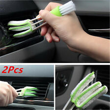 2X Double-Head Cleaning Brush For Air Conditioning Outlet Window Blind Keyboard