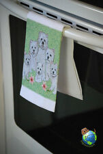 Westie Kitchen Hand Towel