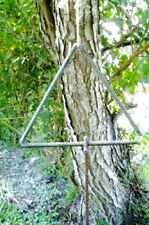 Rebar Triangle Dinner Bell Country Western Ranch Park Chuck Wagon Prairie Decor