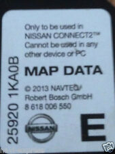 NISSAN CONNECT 2 Navigation SD Card EUROPA 2013 Note,Juke, Qashqai, Micra, Cube…