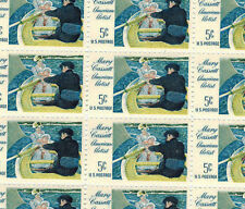 Full mint sheet of 50 Mary Cassatt American Artist #1322 missing tiny margin