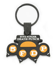 FIVE FINGER DEATH PUNCH Rubber Keychain Keyring Key Chain Key Ring