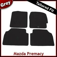 Mazda Premacy (1999 2000 .. 2002 2003 2004) Tailored Fitted Carpet Car Mats GREY