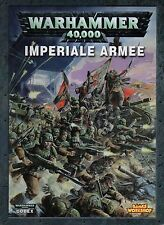 WARHAMMER 40.000-IMPERIALE ARMEE-ARMEEBUCH-GAMES WORKSHOP-Rarität-very rare