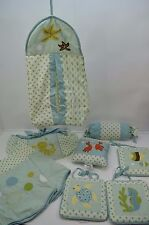Sea World Animals Baby Boy Girl Nursery CRIB BEDDING SET Pillow Valance 9 PC