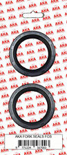 Pair of Fork Oil Seals :- Yamaha FZR400 1WG
