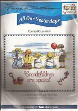 "Counted Cross Stitch All Our Yesterdays Grandchildren 10.5"" x 8.5"" (468-19)"