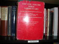 ONE VOLUME BIBLE COMMENTARY Dummelow JEHOVAH NEW TESTAMENT Watchtower Research