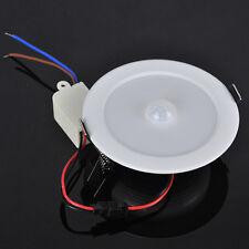 E27 10 SMD LED Ceiling Light White PIR Motion Sensor Wall lamp bracket Light 5W