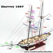 Model ship kits-Harvey 1847