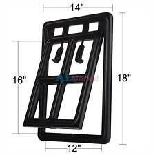 """Easy Screen Moustiquaire Pet Door for Screens for Medium and Large Dogs 12""""x16"""""""