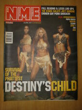 NME 2001 APR 28 DESTINY'S CHILD STEREOPHONICS ASH ELBOW