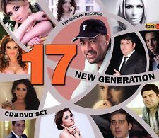 NEW GENERATION 17 ARMENIAN MUSIC CD DVD COLLECTION BEST ARTIST BY HAMIKG MUSIC