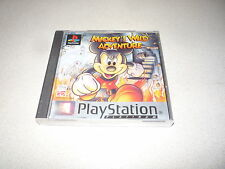 MICKEY'S WILD ADVENTURE PLATINUM SONY PLAYSTATION ONE PS1