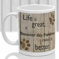 Bouvier des Flandres dog mug, Bouvier gift, ideal present for dog lover
