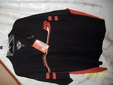 NWT BLACK Harley Davidson Motorcycle Men's 3XL XXXL POLO SHORT SLEEVE SHIRT