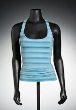 Oakley Twisted Ladies Tank Vest Top Blue Size UK Extra Large (16) NEW