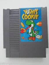 Yoshi's Cookie (Nintendo NES, 1993) Game Only--Tested (NTSC/US/CA) Puzzle Game
