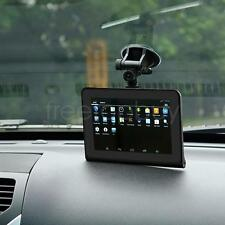 "7"" Car GPS Navigation Android DVR Radar Detector Back Camera Recorder Tachograph"