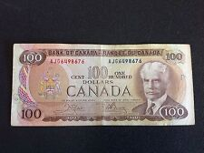 1975 BANK OF CANADA 100 DOLLAR NOTE
