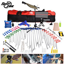 Pro PDR Tools Spring Steel Rods Crowbars Paintless Dent Repair Removal Body Hail