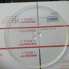 """Large Glass Microwave Oven Carousel Turntable Dish/Tray/Plate, 12 3/4"""" Diameter"""