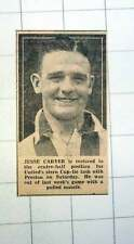 1939 Jesse Carver Newcastle Centre Half Football