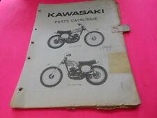 OEM FACTORY 1974 KAWASAKI KX125 PARTS CATALOG MANUAL AHRMA