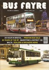 Bus Fayre magazine V33 No.2 March / April 2011 Bristol Preston RF60 M & D Malta