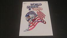 1980 World Series Eagles vs Chiefs Program