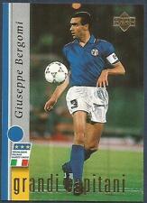 UPPER DECK LEGGENDA AZZURRA-ITALY-1998- #11-GRANDI CAPITANI-GUISEPPE BERGOMI