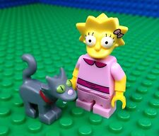 Lego 71009 The Simpsons Series 2 LISA with SNOWBALL II 2 Cat Minifig Minifigure