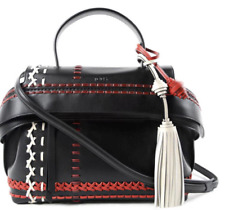 Tod's Wave Leather Bag With Stitching Details tassel
