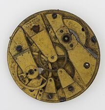 MOULINIE GENEVE SWISS CYLINDER HIGH GRADE POCKET WATCH MOVEMENT SPARES R92
