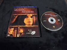 "USED DVD MOVIES ""MURDER 8y NUM8ERS""  FULL-SCREEN EDITION (G)"