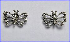 Pair  Of  Sterling Silver ( 925)  Butterfly   Earstuds  !!           New  !!