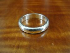 PTI Hammered Look Sterling Silver 925 Band RING Size 7