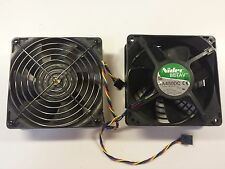 Dell XPS 700 730 730X Nidec Fan SET of TWO TA450DC Model B35502-35 12V DC 1.40A